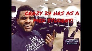 CRAZY 24 HRS AS A MED STUDENT VLOG  MED SCHOOL VLOG