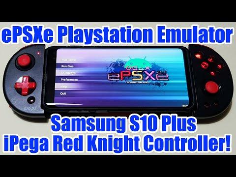 Playstation Emulator - EPSXe - On Samsung S10 Plus IPega Red Knight Controller!