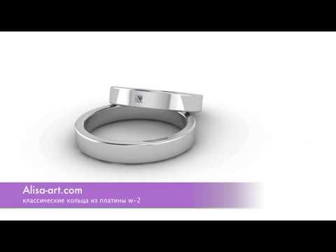 Обручальные кольца из платины Платиновые обручальные