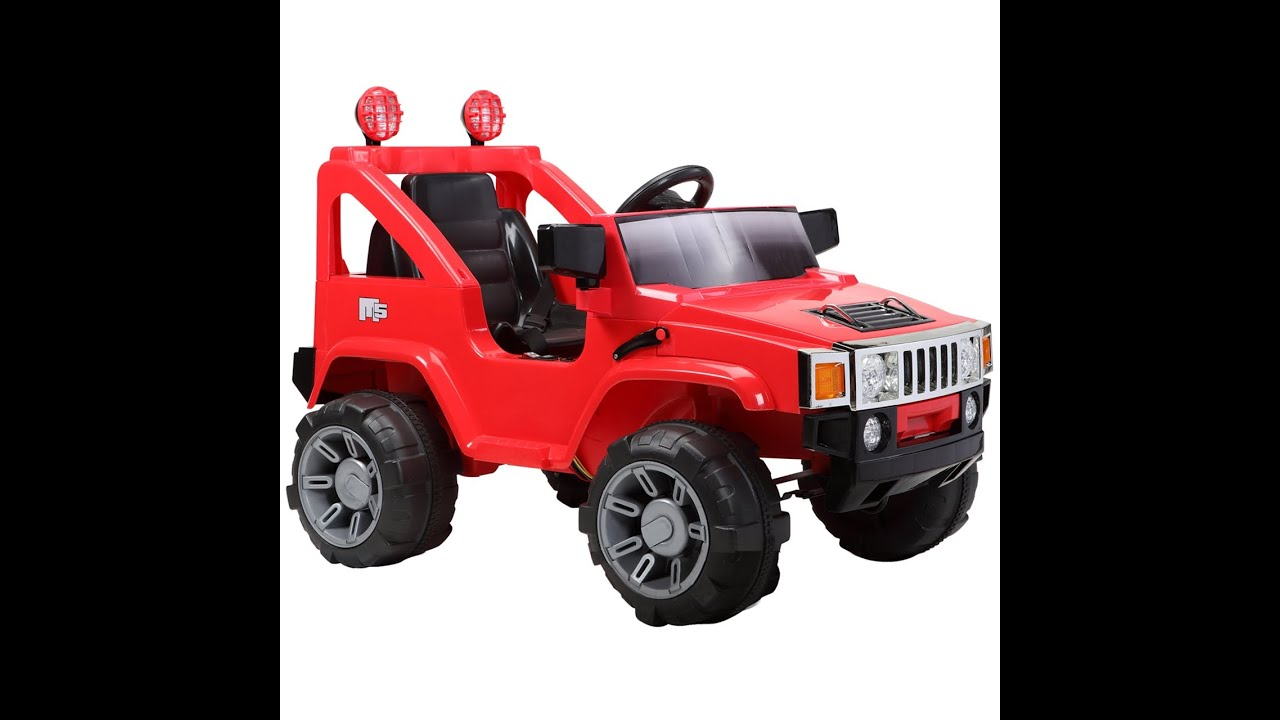 hummer kids ride on car hummer cars toys for kids youtube