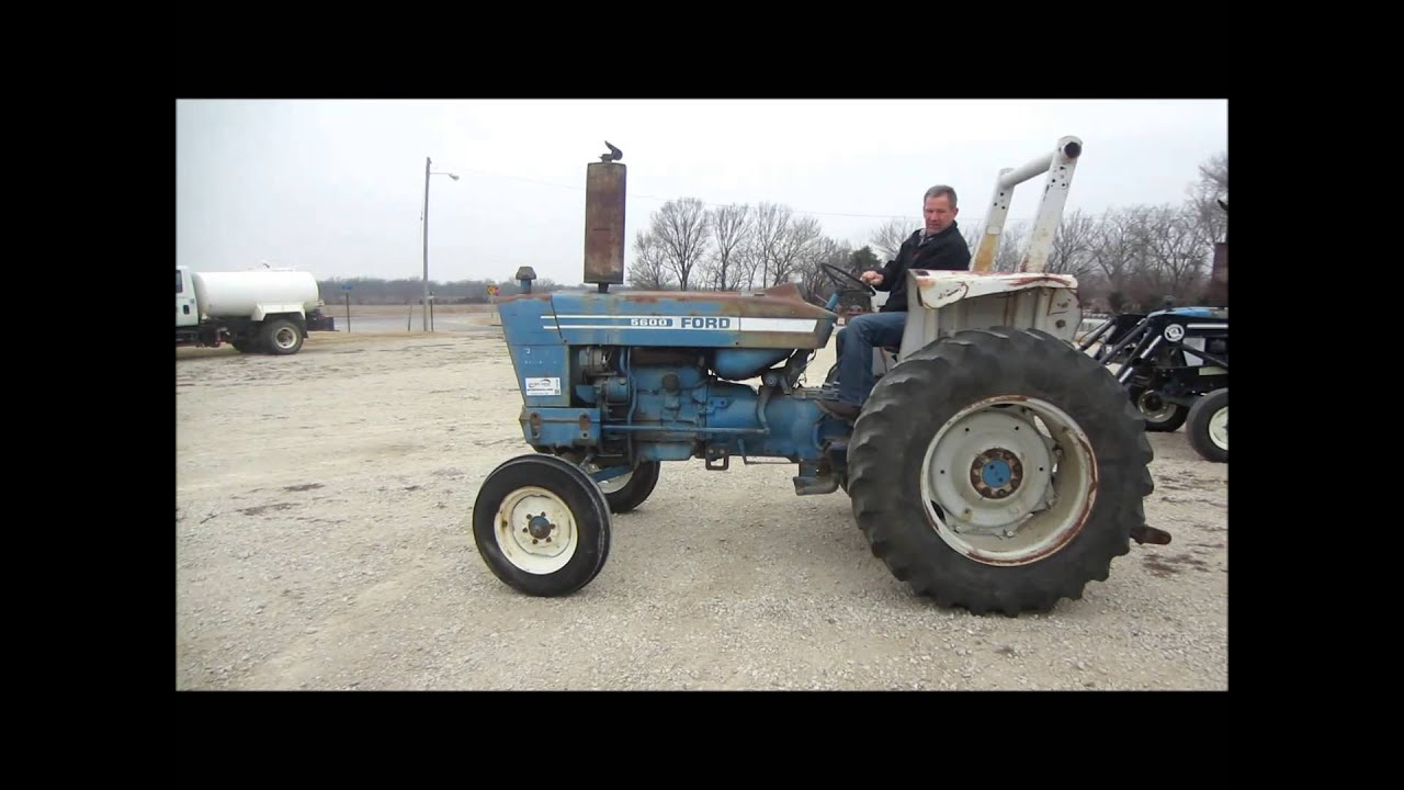 Ford 5600 Tractor : Ford tractor for sale sold at auction february