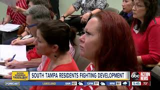 South Tampa residents oppose apartment complex development near MacDill Airforce Base