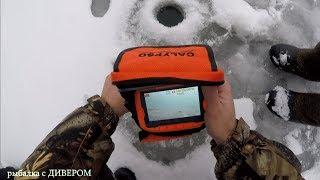 ПОДВОДНЫЕ КАМЕРЫ ДЛЯ РЫБАЛКИ - камера КАЛИПСО (CALYPSO) подводное видео КАРПОВ ПРУД фильмы ДИВЕРА