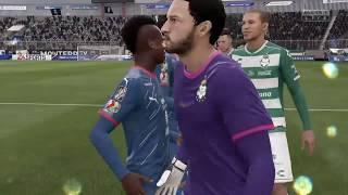 embeded bvideo Simulación #FIFA19 Santos vs Monterrey