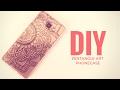 DIY Easy mandala phone case