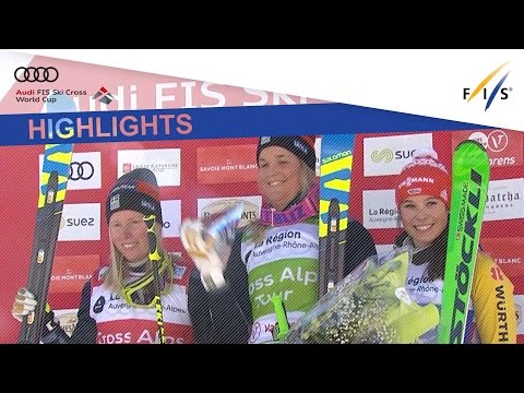Highlights | Holmlund bounces back in Ski Cross #2 at Val Thorens | FIS Freestyle Skiing