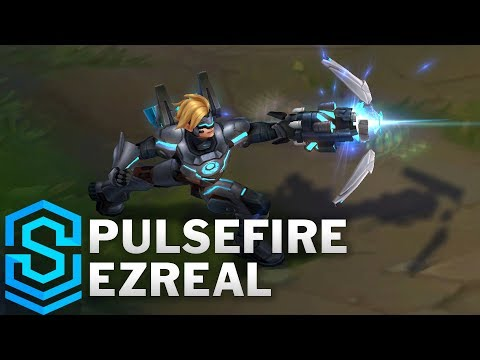 Pulsefire Ezreal (2018) Skin Spotlight - League of Legends