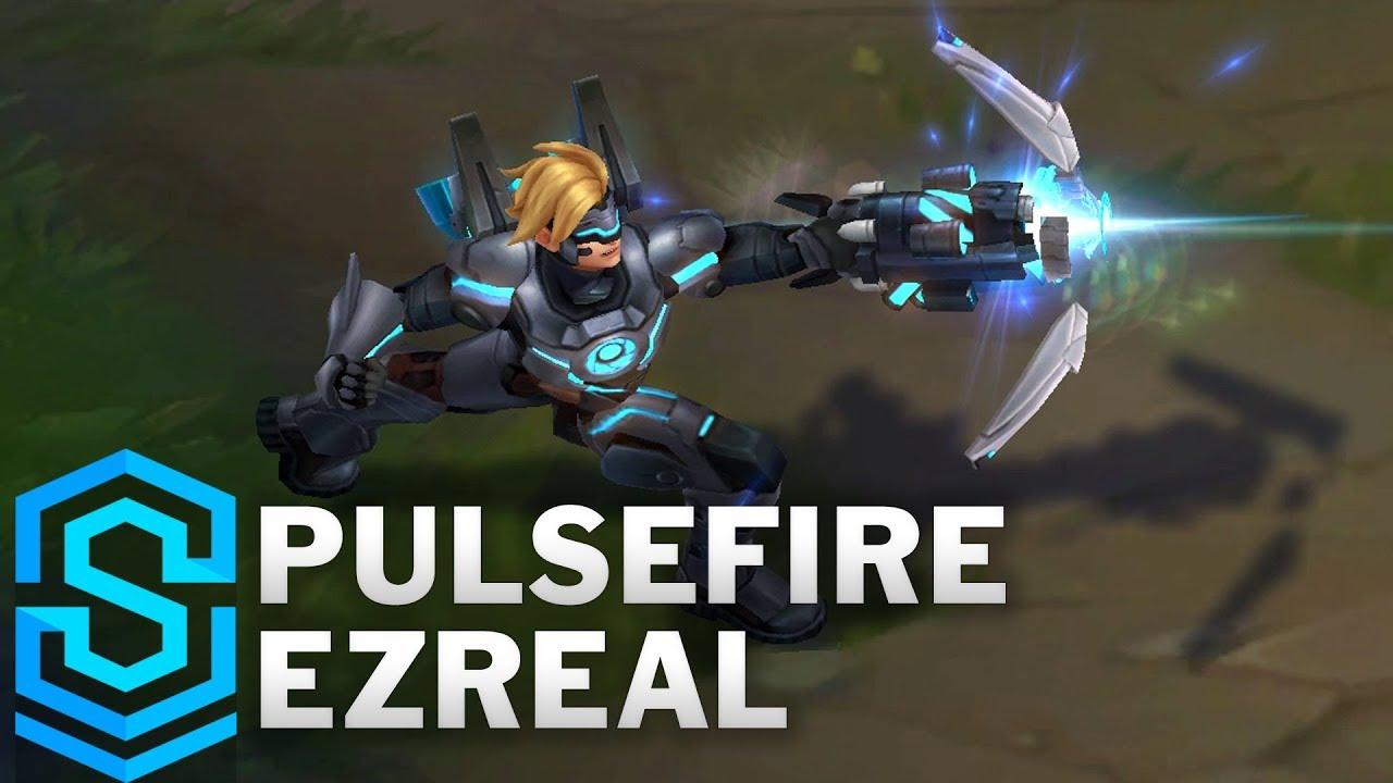 lol ezreal pulsefire skin