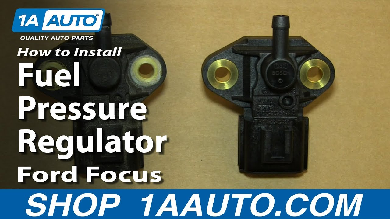 how to install replace fuel pressure regulator 2005-09 2.3l ford