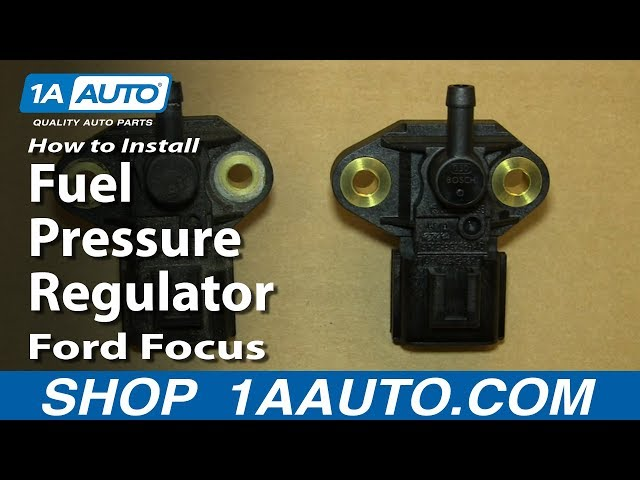 How to Replace Fuel Injection Pressure Sensor 05-09 Ford