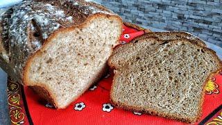 ПШЕНИЧНО РЖАНОЙ хлеб в духовке Солодовый хлеб на дрожжах БЕЗ ЗАКВАСКИ