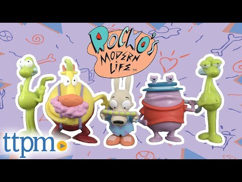 Rocko's Modern Life Collector Figure Set from Just Play