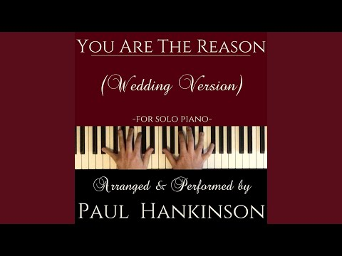 You Are the Reason Wedding