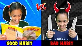 Good Habits VS Bad Habits For Kids   Funny Video   Good Manners   #Fun #Kids   Daksh Comedy Studio