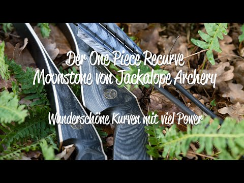 Review: One Piece Recurvebogen Moonstone von Jackalope Archery - starke Kurven