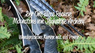 Review One Piece Recurvebogen Moonstone von Jackalope Archery - starke Kurven