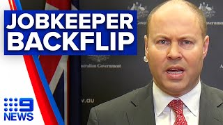 Coronavirus: New JobKeeper rules reversed | 9News Australia