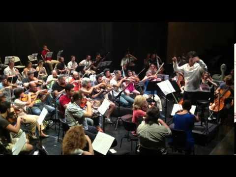 Οι πρώτοι ήχοι της Metropolitan Symphony Orchestra of Athens (Πρόβες)