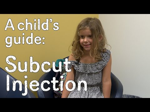 A child's guide to hospital - Subcutaneous Injection