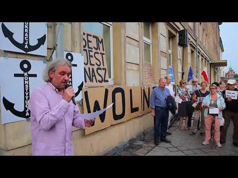 Manifestacja Przed Sądem Rejonowym W Szczecinie - 18 Lipiec 2018