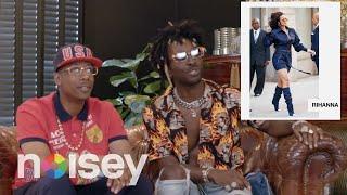 Baixar Saint Jhn Judges Rihanna, Lenny Kravitz, and Caribbean Artists' Fits on Sauce Talk