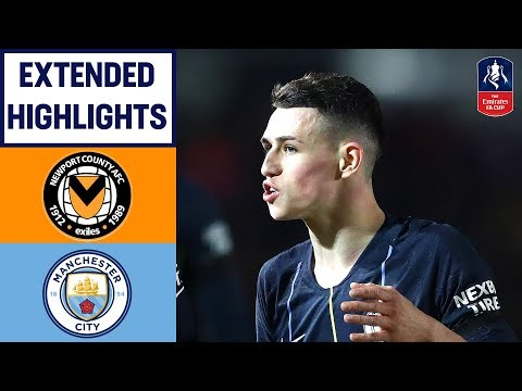 Foden Double, Sane and Mahrez Sink Newport | Newport 1-4 Manchester City | Emirates FA Cup 2018/19