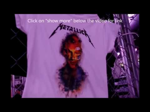 Metallica Pop-UP merch stores  dates and locations + merch tour..