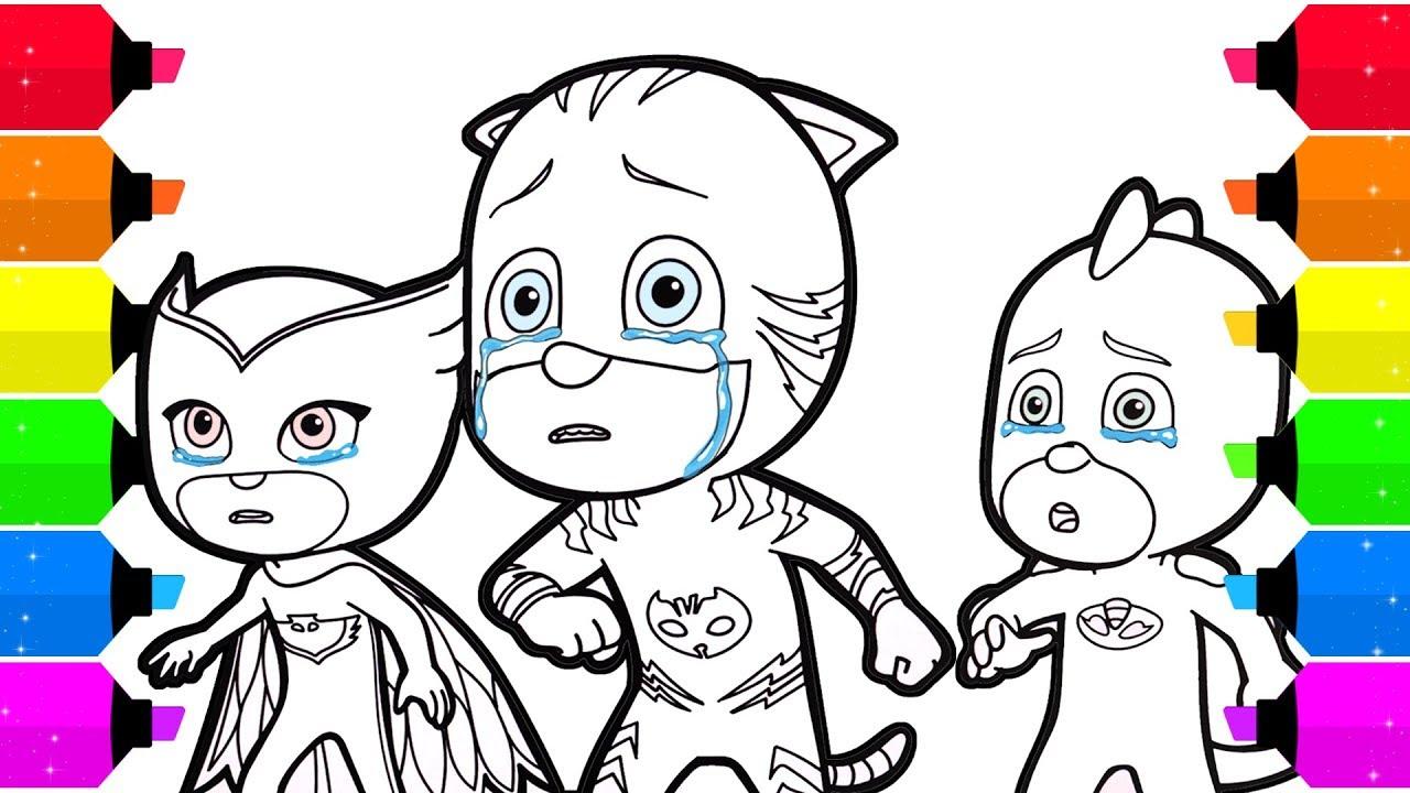 disney junior pj masks coloring pages - bowstomatch