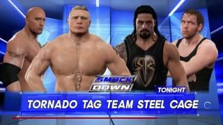 """UCIEKLI Z KLATKI!? - WWE 2K17 z SZERWONYM """"AMATORSKI DUECIK"""" #01 [PL/PC/HD]"""