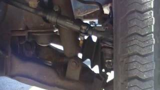 """Here is a 1995 Toyota T100 with a 1.5"""" ball joint spacer and a 2"""" a..."""