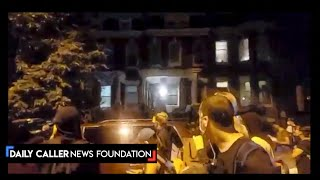 Protesters Demonstrate Outside D.C. Councilman's House