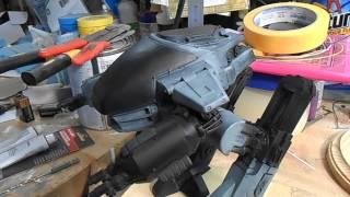 1/12 ARGONAUTS ROBOCOP ED-209 BUILD PART 4