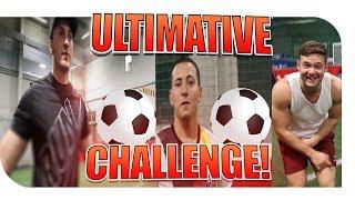 ULTIMATIVE FUSSBALL CHALLENGE! MIT INSCOPE & EinfachPeter + BESTRAFUNG!