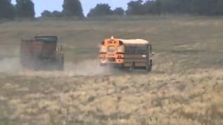 Rematch Race School Bus And Dumptruck Davidsfarm