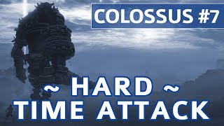 Shadow of the Colossus (PS4) - Colossus #7 Hydrus Boss Fight - Hard Time Attack