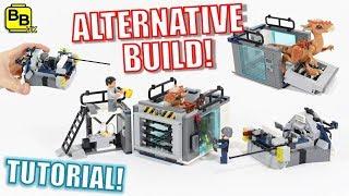 LEGO JURASSIC WORLD 75927 ALTERNATIVE BUILD DINOSAUR CONTAINMENT!