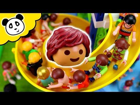 Bob Der Bademeister - Die Rutsche Ist Verstopft! Playmobil Schwimmbad Film
