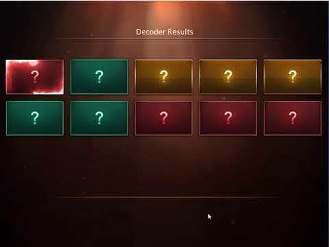 CSNZ - New Decoder Opening System 【6】