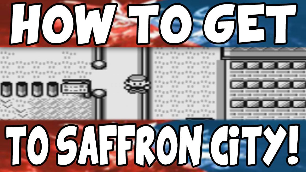 How To Get To Saffron City On Pokemon Red Blue Youtube