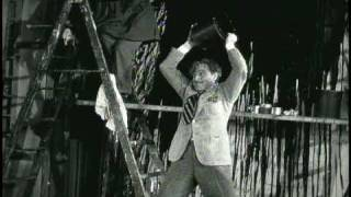 """Anathama, child of Satan!"". Scene from 1934 movie, Twentieth Century"