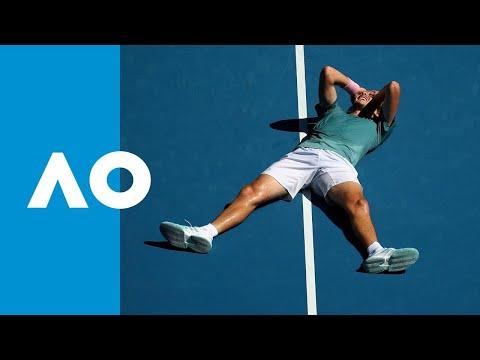 Roberto Bautista Agut V Stefanos Tsitsipas Match Highlights (QF)   Australian Open 2019