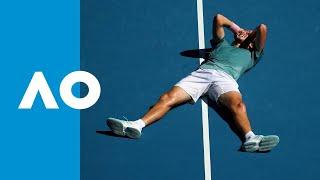 Roberto Bautista Agut v Stefanos Tsitsipas match highlights (QF) | Australian Open 2019