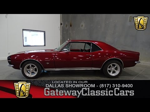 1967 Chevrolet Camaro RS Stock #205 Gateway Classic Cars of Dallas