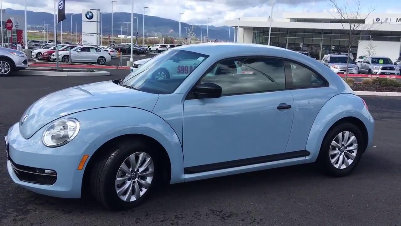 2017 Volkswagen Beetle Coupe Denim Blue Vw World
