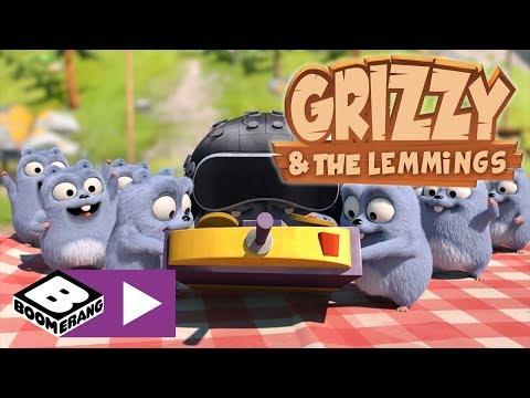 Grizzy ve Lemmingler | Çikolata Kavanozu | Boomerang