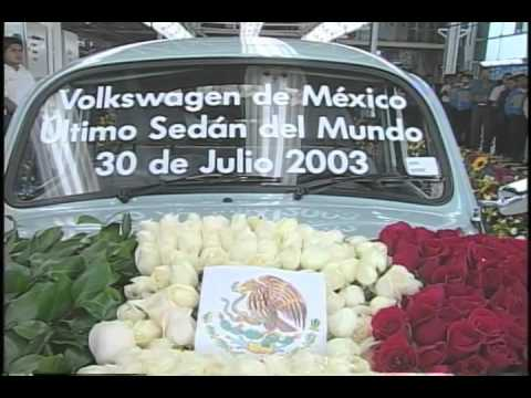 Last VW Bug Off Assembly Line In Mexico 2003