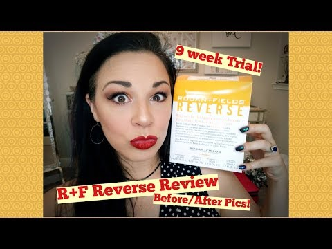 Rodan and Fields Reverse Regimen Review - Amberrific or No?? - - Before and After Pics!!