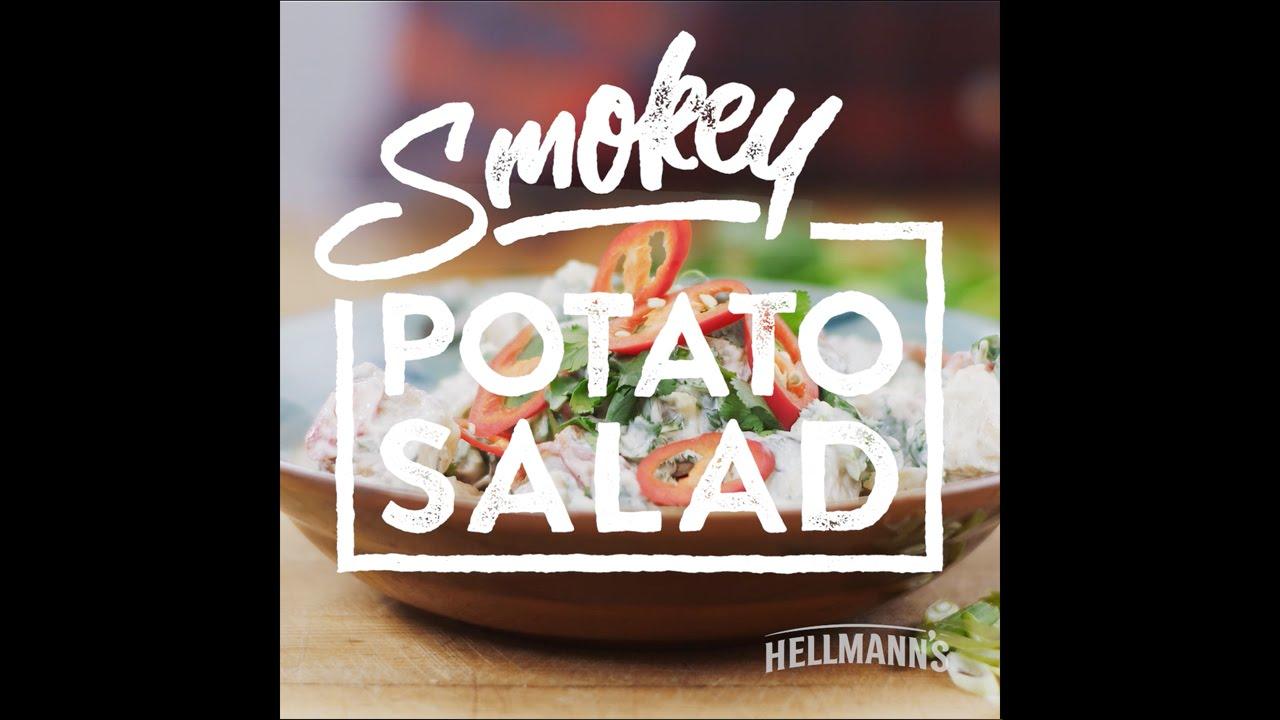 Hellmann's & DJ BBQ: Smokey Potato Salad Recipe #grilltopia
