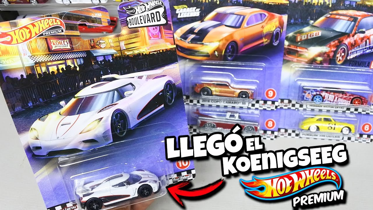 Encontre esta coleccion en el supermercado - Hot Wheels Boulebard 2, Koenigsegg Agera R, Camaro SS