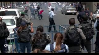 استمرار الاشتباكات في الأقصى وهتافات الثورة السورية حاضرة بين المقدسيين